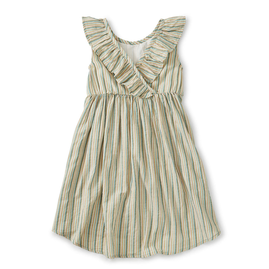 Ruffle Hi-Lo Dress - Marsh-Tea-Joanna's Cuties