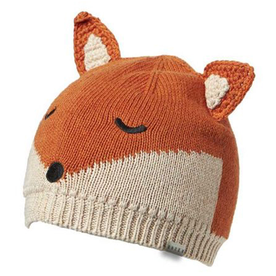 Rust Baby Boys Beanie Fox-Dozer-Joanna's Cuties