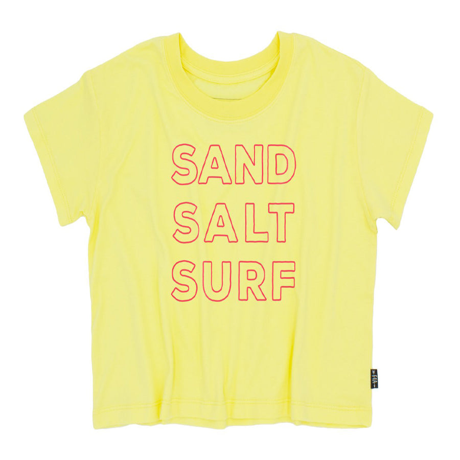 Sand Salt Surf Crop Tee