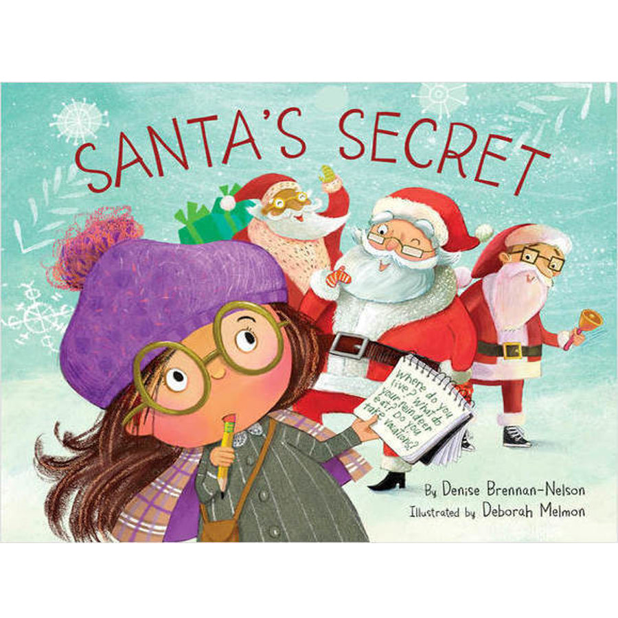 Santa's Secret - Sleeping Bear Press - joannas-cuties