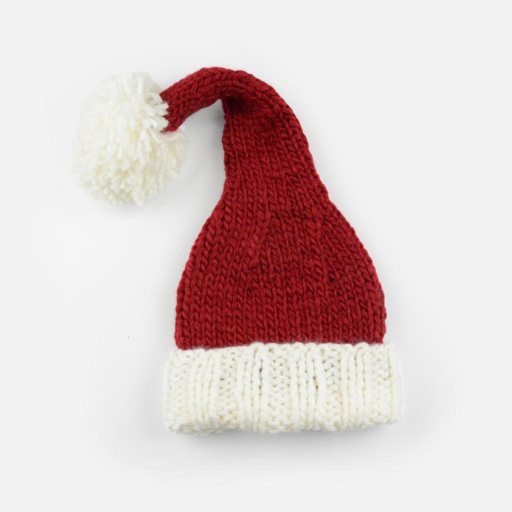 Nicholas Santa Knit Hat-The Blueberry Hill-Joanna's Cuties