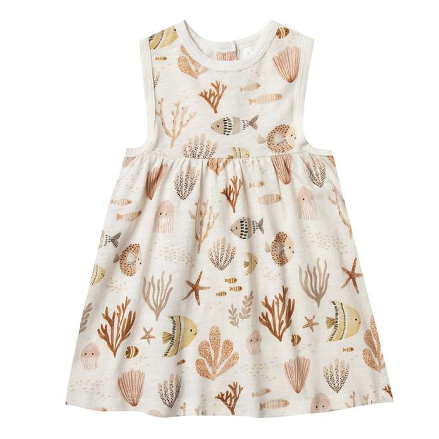 Sea Life Layla Dress-Rylee + Cru-Joanna's Cuties