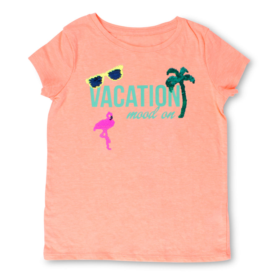 Sequin T-Shirt-Vacation - Shade Critters - joannas-cuties