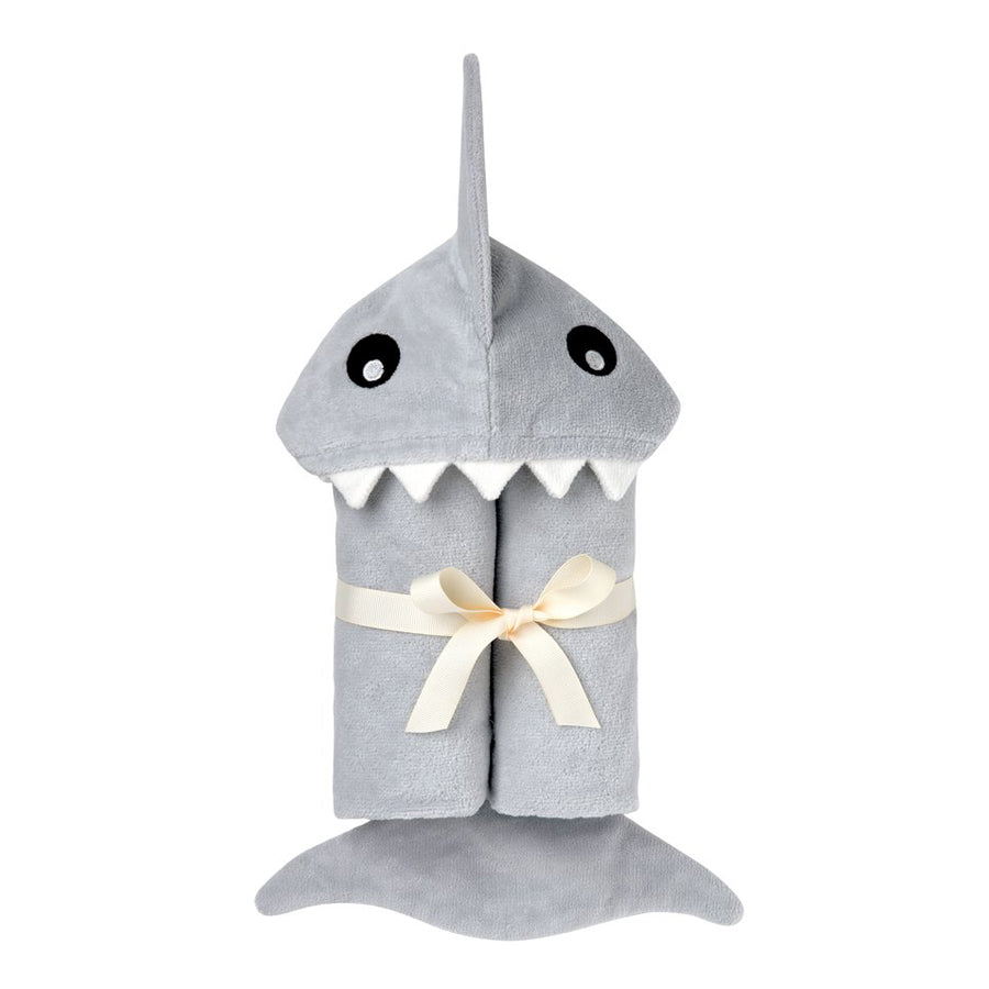 Shark Hooded Baby Bath Wrap-Elegant Baby-Joanna's Cuties