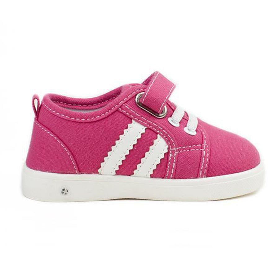 Andy Hot Pink Tennis Shoes-Wee Squeak-Joanna's Cuties