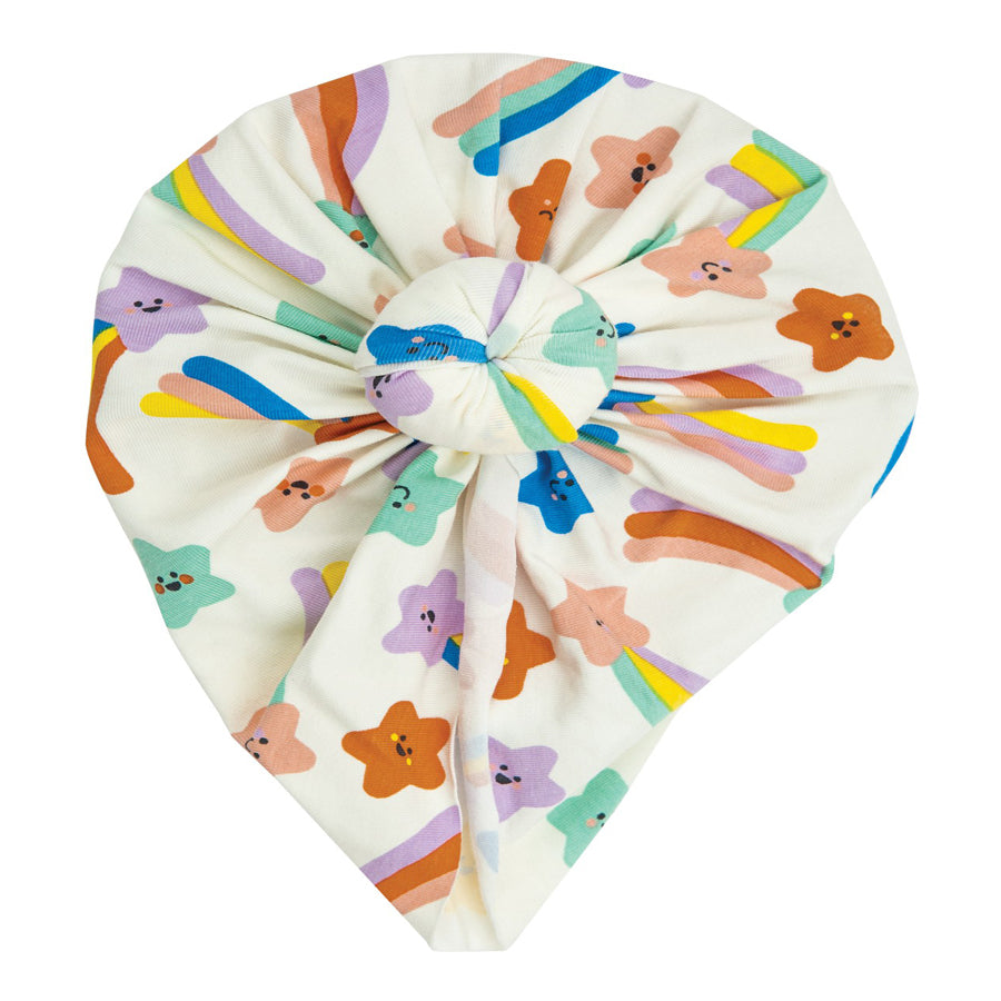 Shooting Stars Headwrap Multi Pink-Angel Dear-Joanna's Cuties