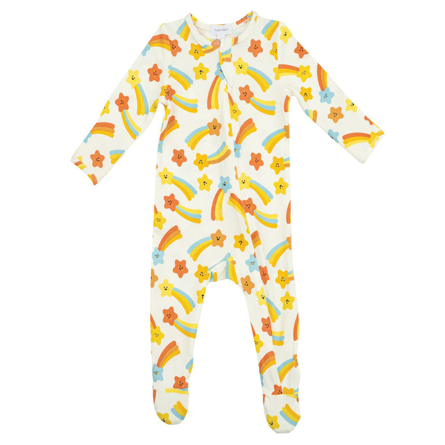 Shooting Stars Zipper Footie-Angel Dear-Joanna's Cuties