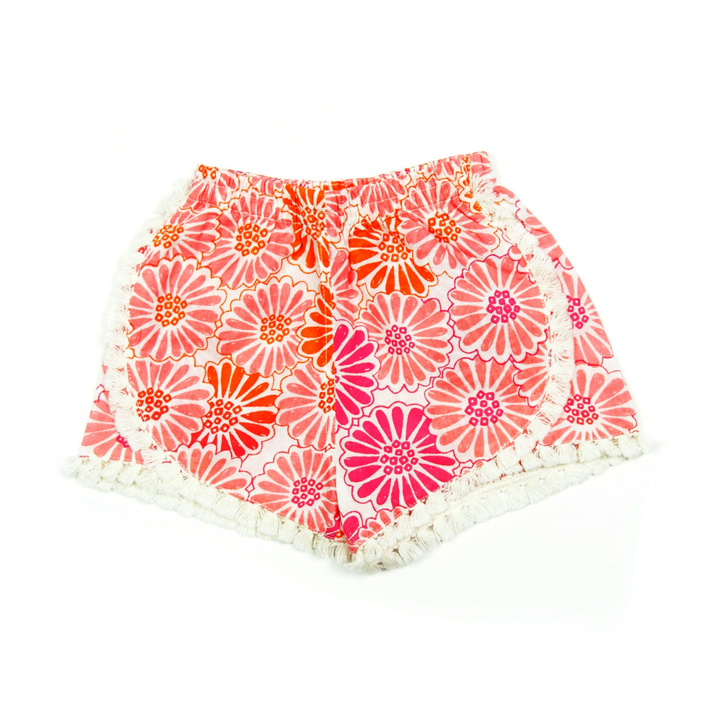 Shorts Beach Flower, Almirah - Joanna's Cuties