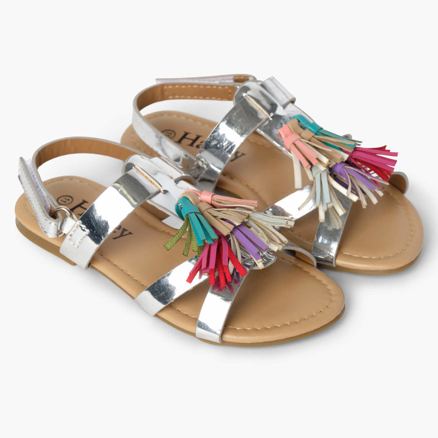 Silver Shine Sandals-Hatley-Joanna's Cuties