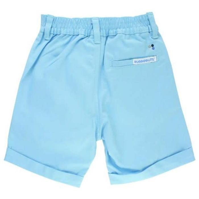 Sky Blue Cuffed Chino Shorts - Rugged Butts - joannas-cuties