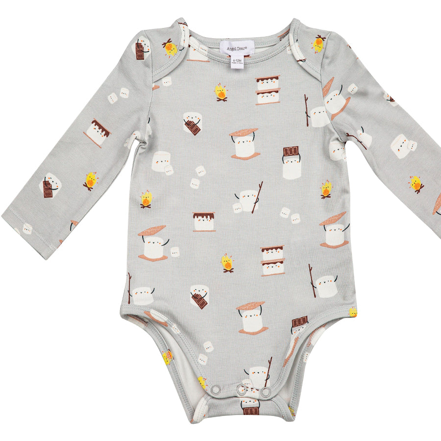 Smores Lap Shoulder Onesie-Angel Dear-Joanna's Cuties