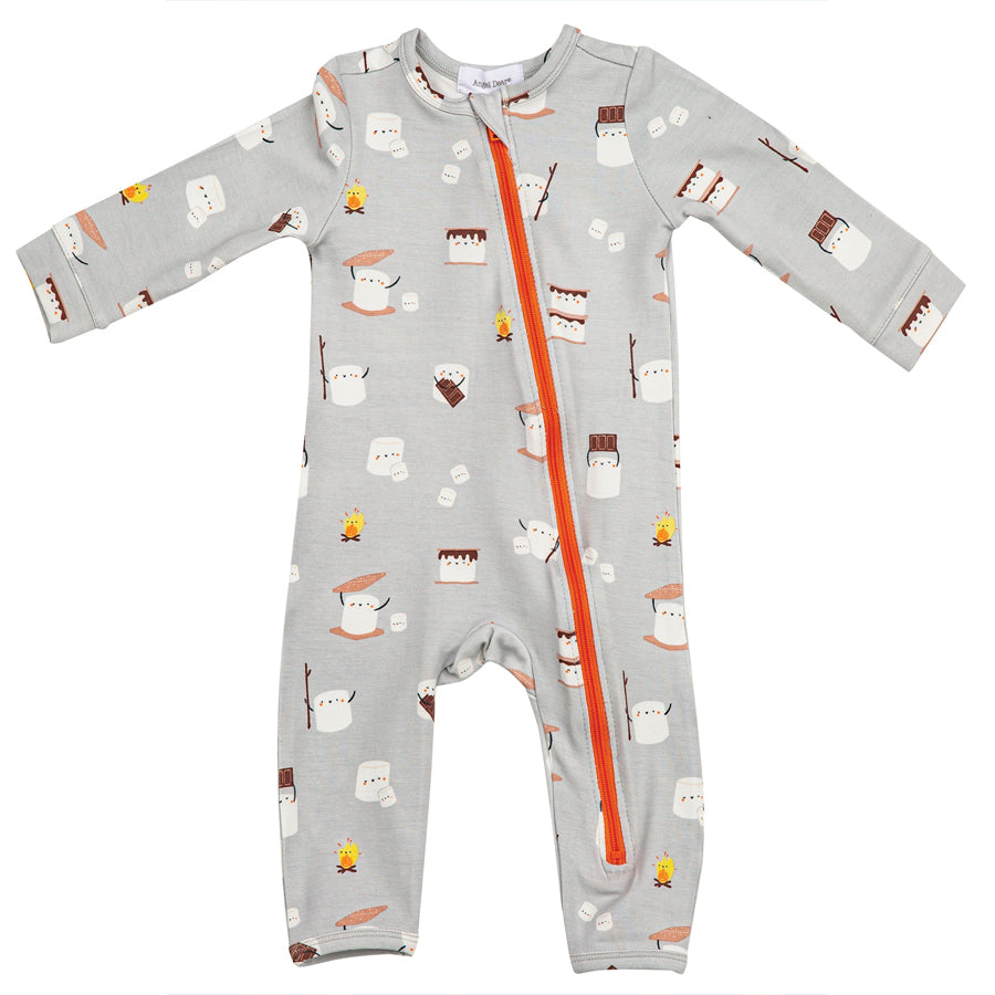 Smores Zipper Romper-Angel Dear-Joanna's Cuties