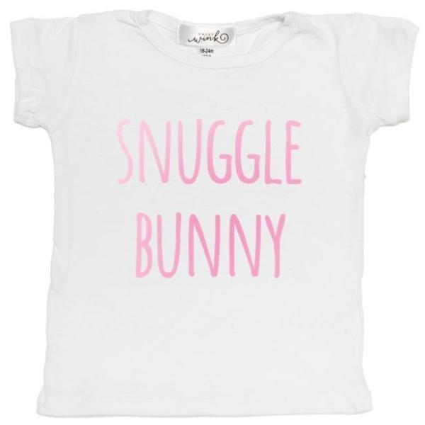 Snuggle Bunny S/S Shirt- Girl - Sweet Wink - joannas-cuties