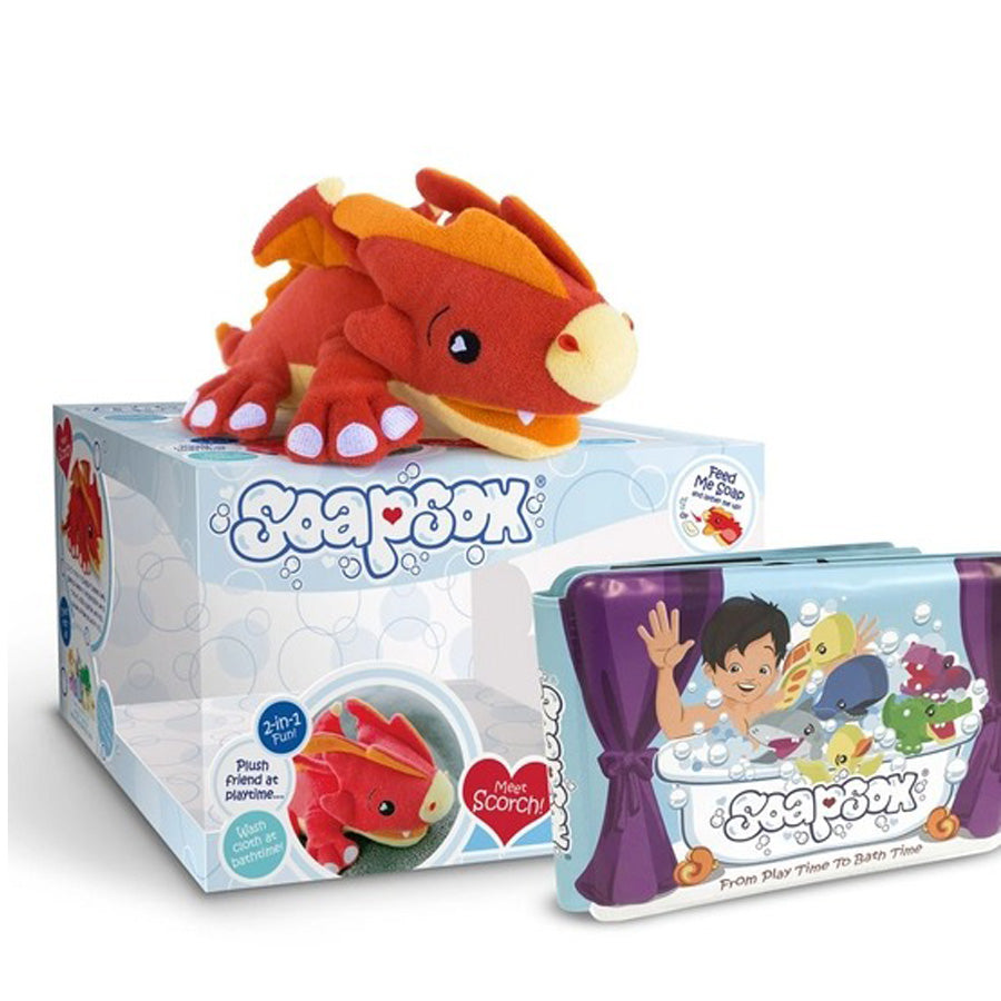 Scorch the Dragon Gift set-Soapsox-Joanna's Cuties