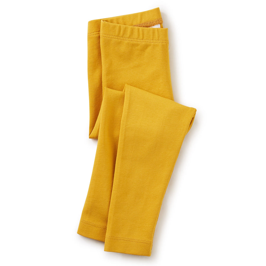 Solid Baby Leggings - Golden Yellow-Tea-Joanna's Cuties