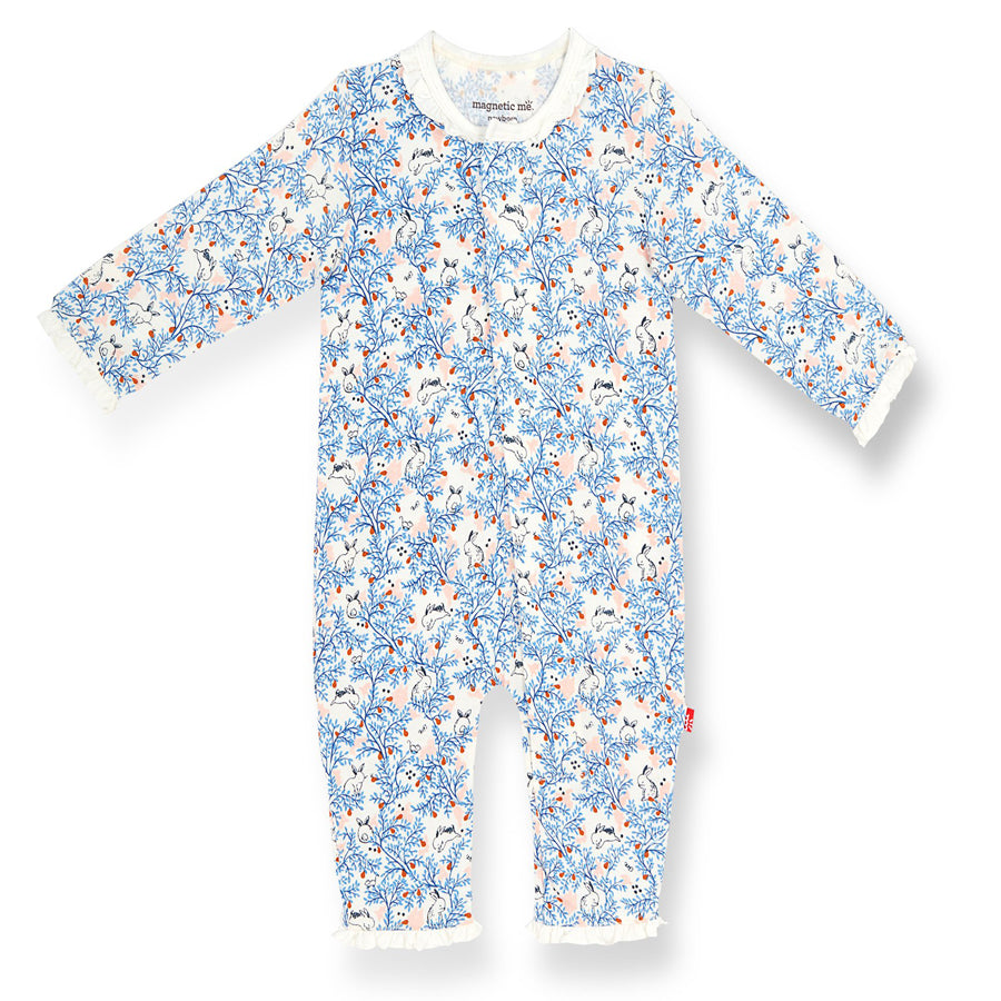 Somebunny Floral Modal Magnetic Coverall