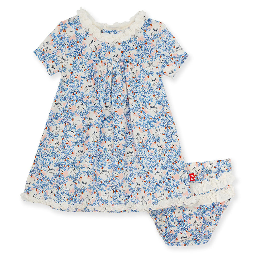 Somebunny Floral Modal Magnetic Dress & Diaper Cover