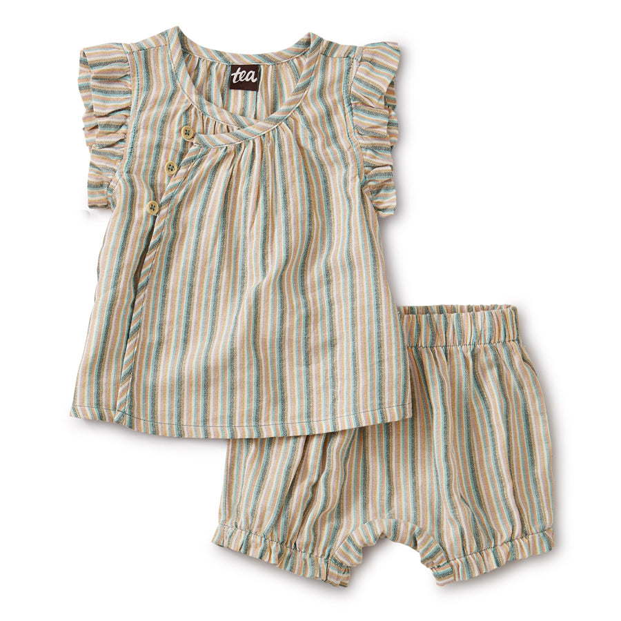 Sparkle Stripe Wrap Set - Marsh-Tea-Joanna's Cuties