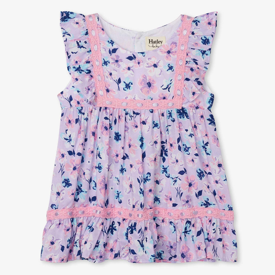Spring Blooms Baby Party Dress-Hatley-Joanna's Cuties