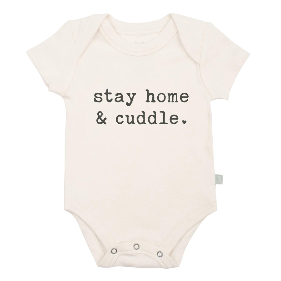 Graphic Bodysuit - Stay Home And Cuddle