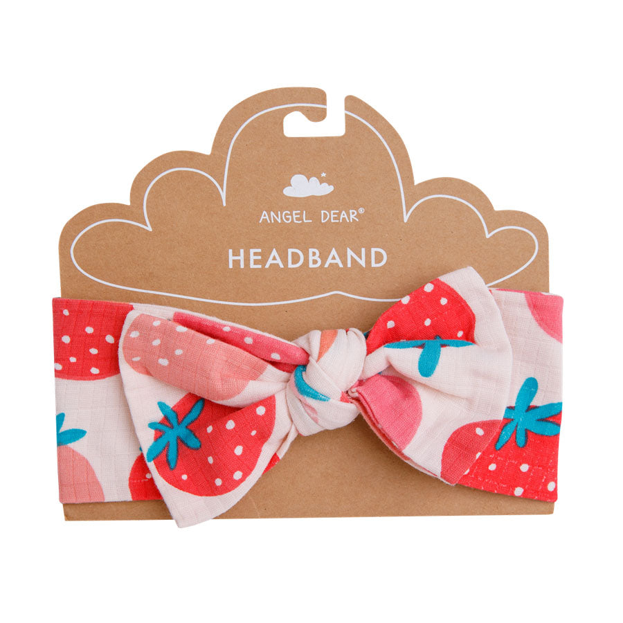 Strawberries Headband-Angel Dear-Joanna's Cuties
