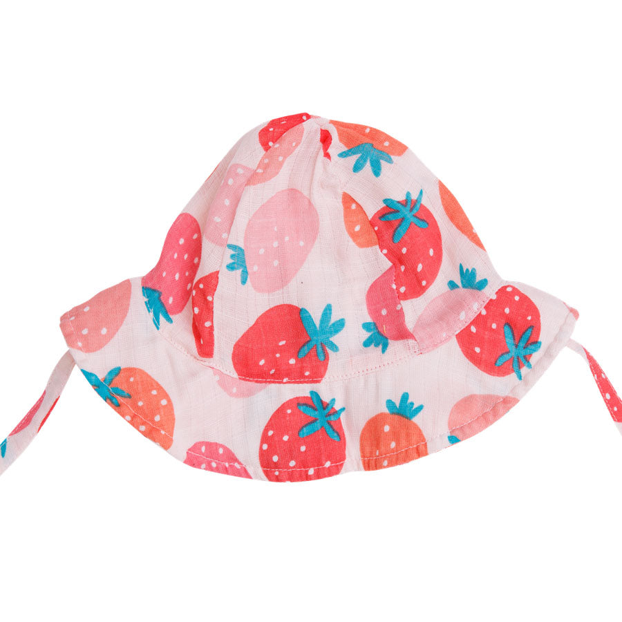 Strawberries Sunhat-Angel Dear-Joanna's Cuties