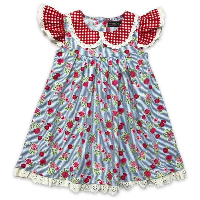 Strawberry Field Old English Dress - Mustard Pie - joannas-cuties