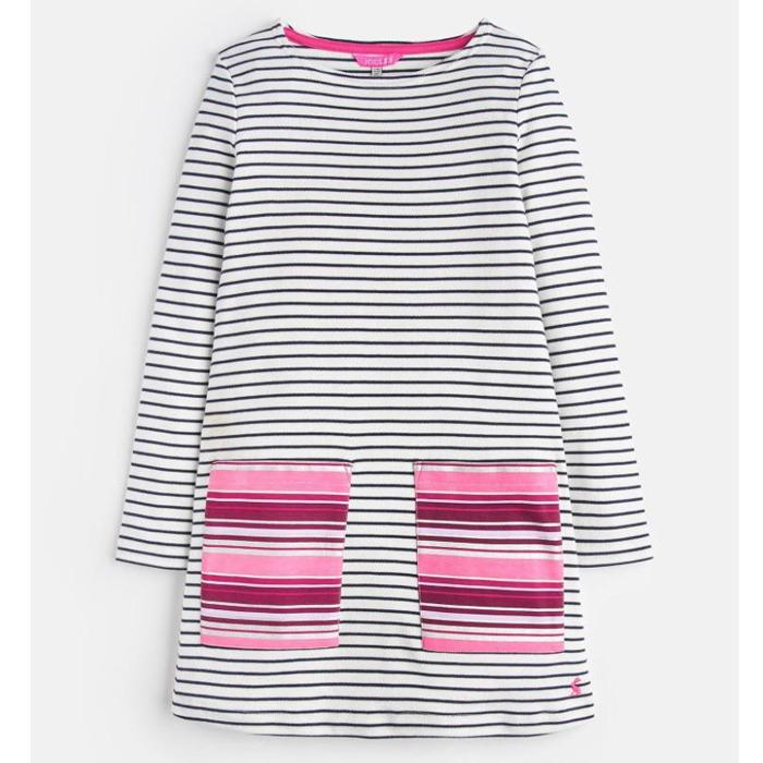 Stripe Pocket Dress - Joules - joannas-cuties