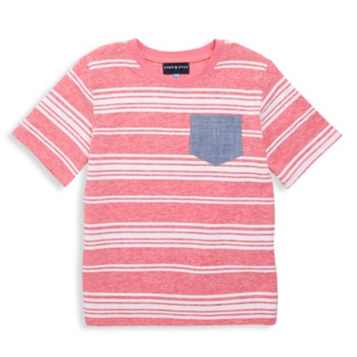 Stripe Pocket Tee - Andy & Evan - joannas-cuties
