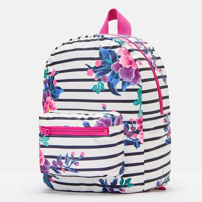 Striped Printed Backpack, Joules - Joanna's Cuties
