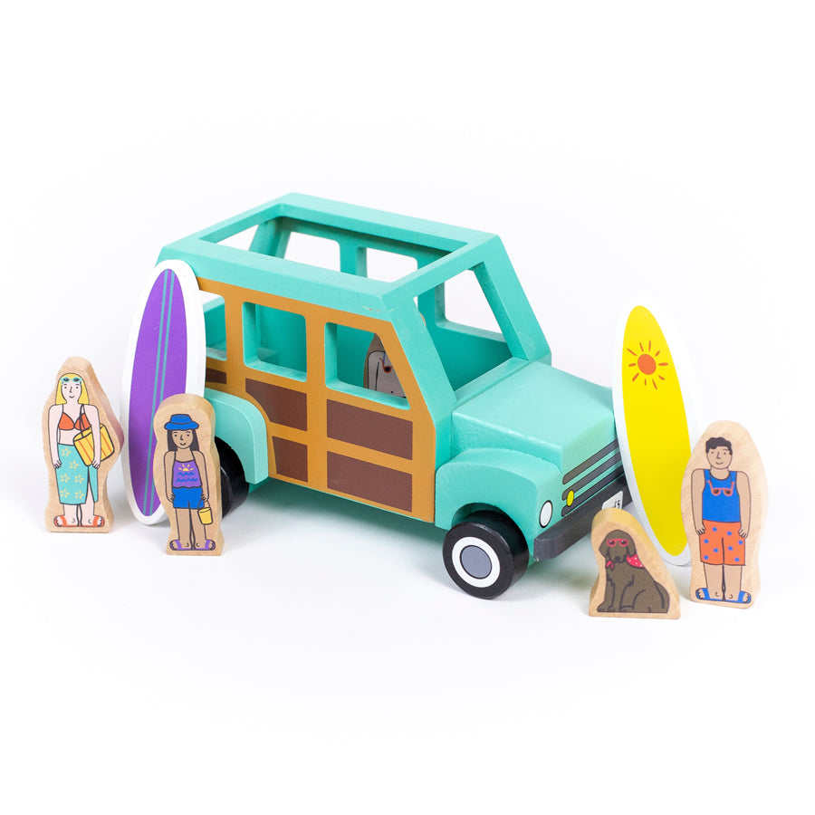 Surf's Up Magnetic Truck-Jack Rabbit Creations-Joanna's Cuties