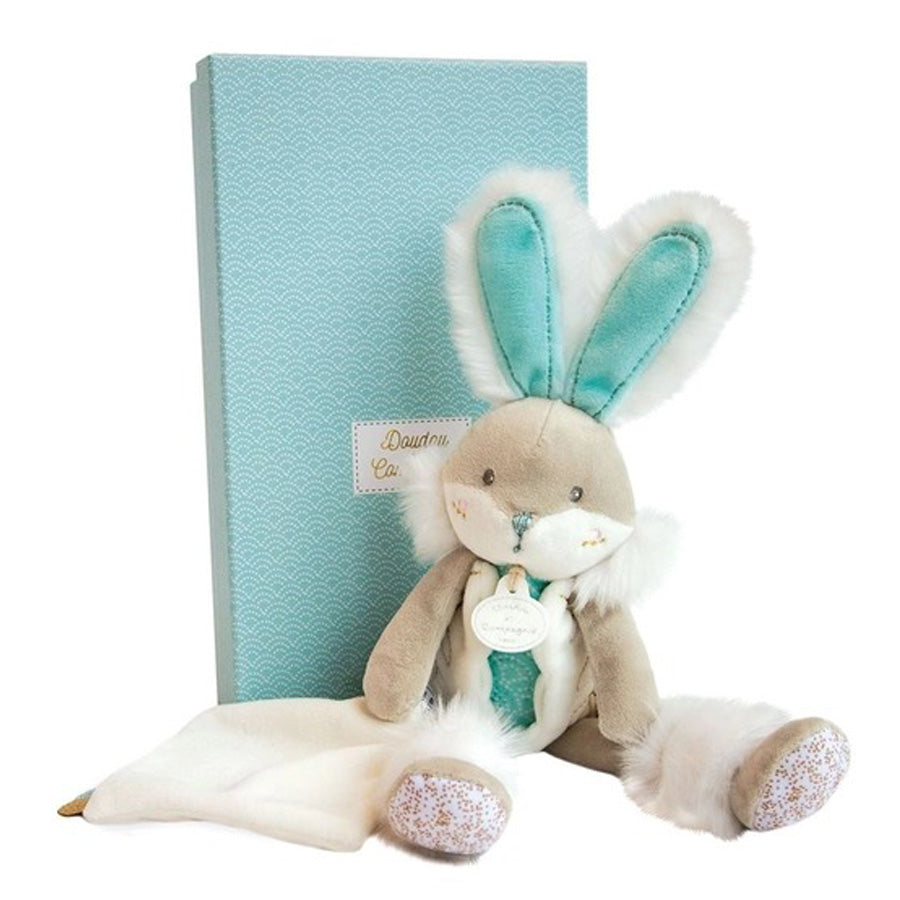 Sea Green Plush Sugar Bunny-Doudou Et Compagnie-Joanna's Cuties