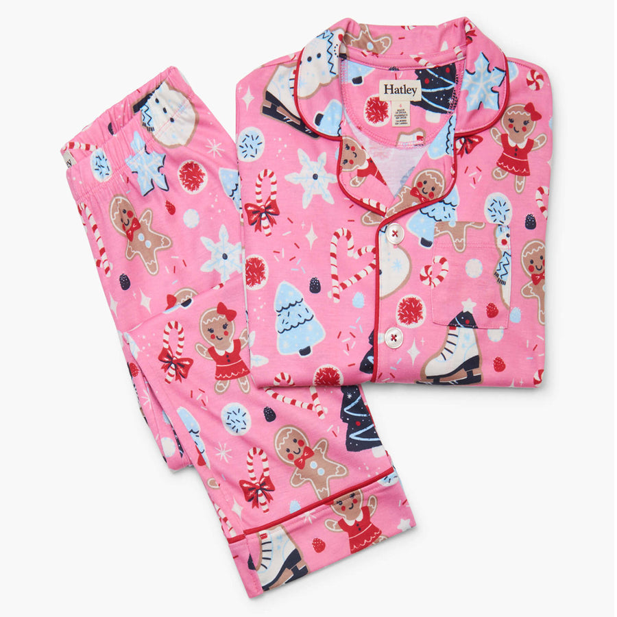 Sugar Rush Button Down Pajama Set-Hatley-Joanna's Cuties