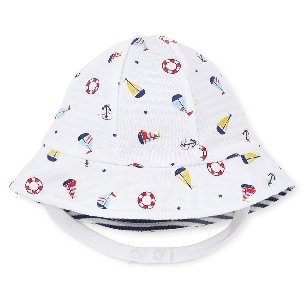 Summer Sails Reversible Sunhat - Kissy Kissy - joannas-cuties