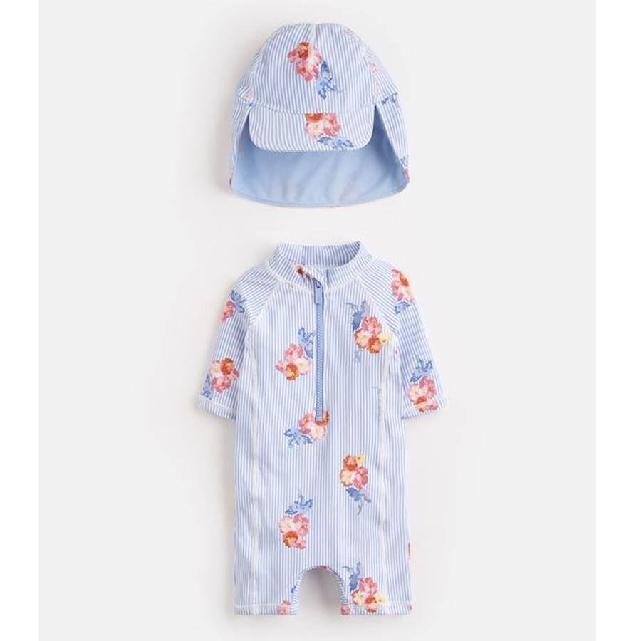 Sun Printed Swim Suit Set, Joules - Joanna's Cuties