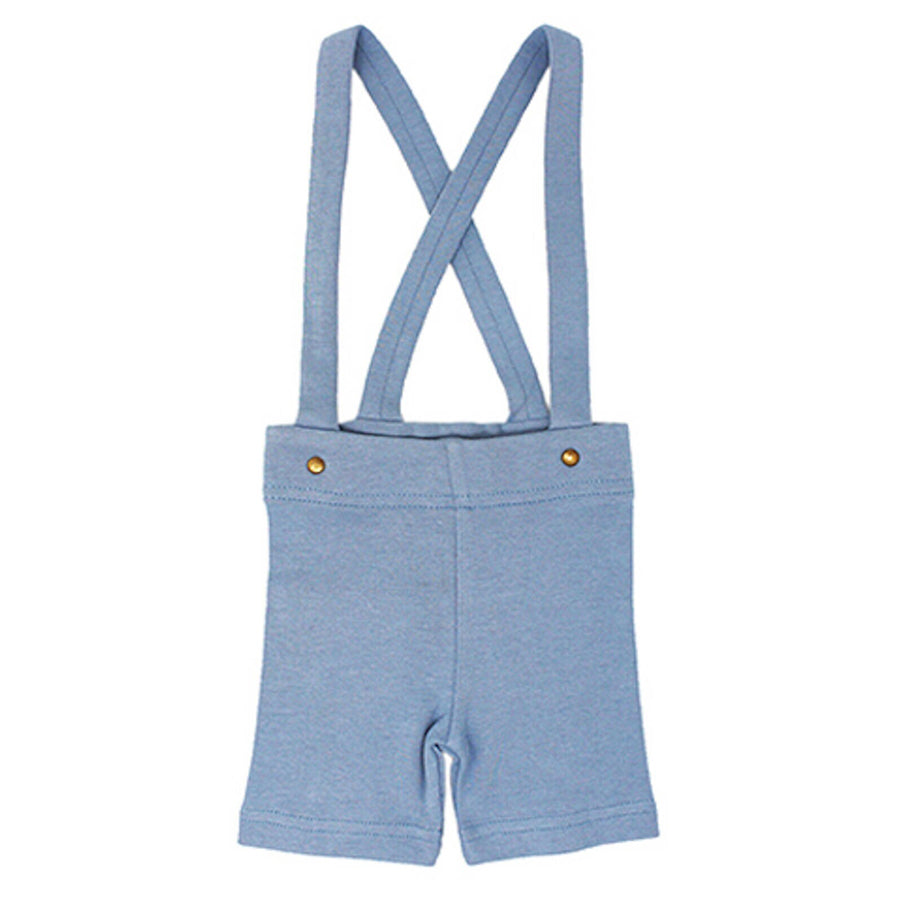 Suspender Shorts in Pool-L'ovedbaby-Joanna's Cuties
