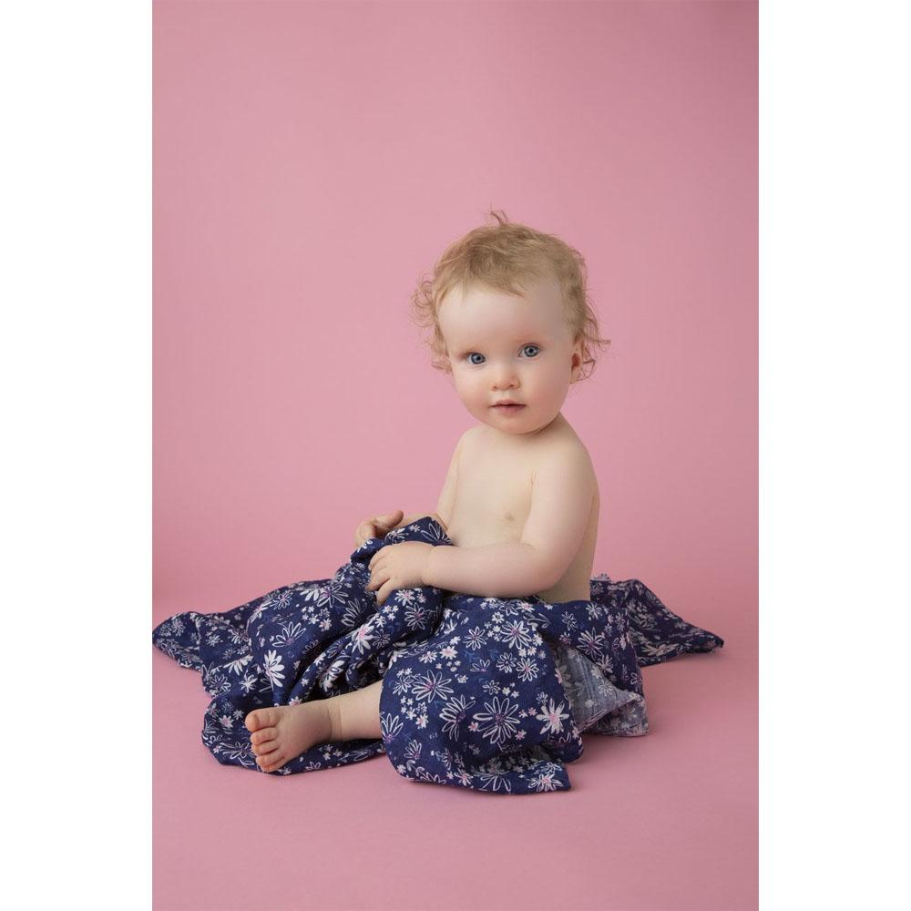 Swaddle Blanket Daisies - Angel Dear - joannas-cuties