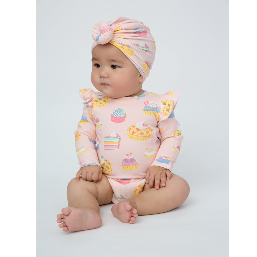 Sweetie Pies Ruffle Bodysuit-Angel Dear-Joanna's Cuties