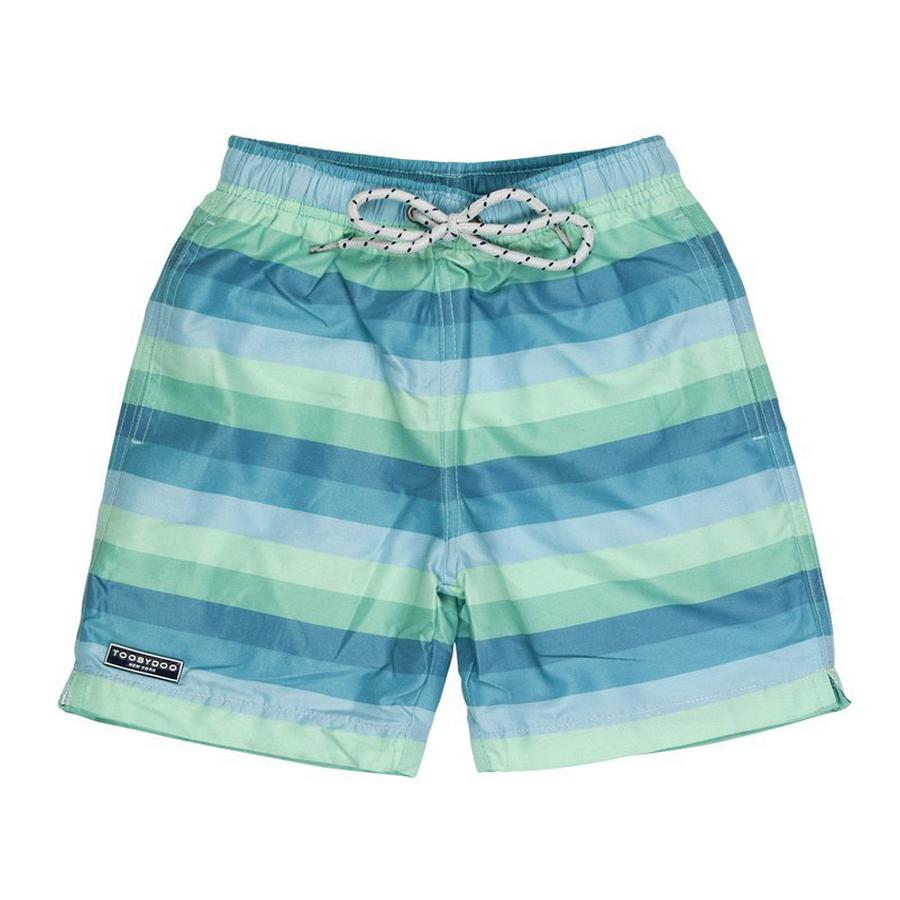 Swim Shorts Blue/Green - Toobydoo - joannas-cuties