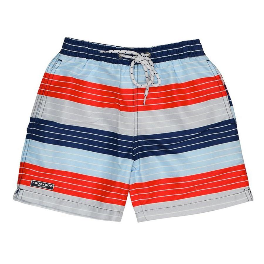 Swim Shorts Red/White/Blue - Toobydoo - joannas-cuties