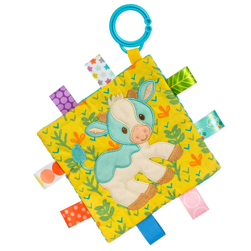 Taggies Crinkle Me Casey Cow – 6.5×6.5″ - Mary Meyer - joannas-cuties