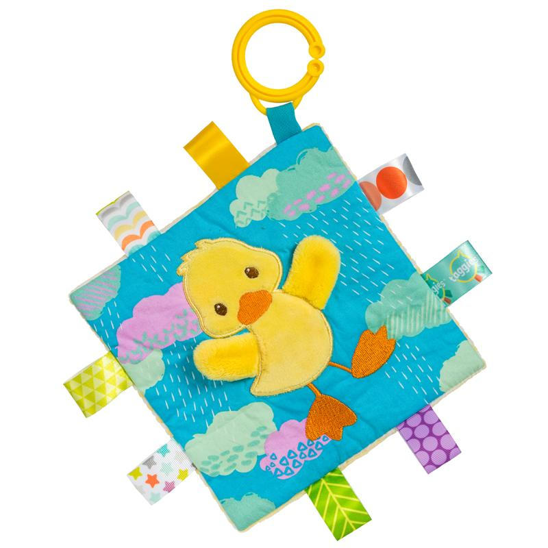 Taggies Crinkle Me Dipsy Duck – 6.5×6.5″-Mary Meyer-joannas_cuties