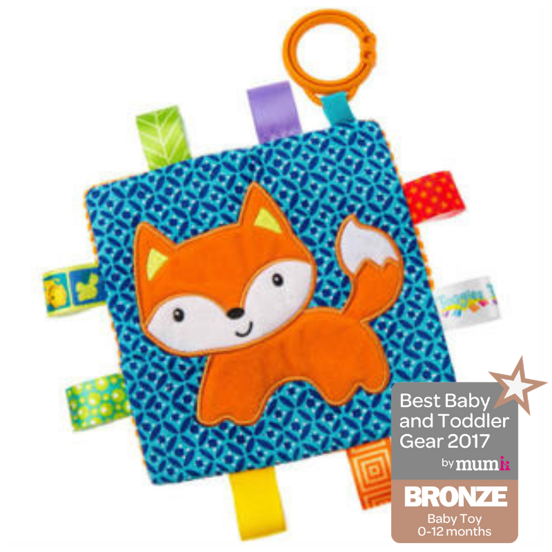 Taggies Crinkle Me Fox – 6.5×6.5″ - Mary Meyer - joannas-cuties
