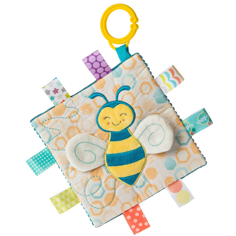 Taggies Crinkle Me Fuzzy Buzzy Bee-Mary Meyer-Joanna's Cuties