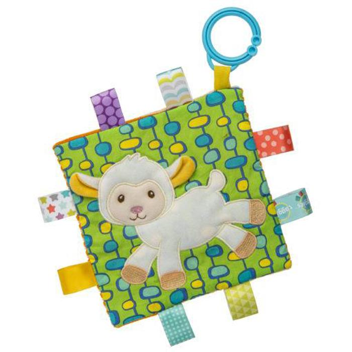 Taggies Crinkle Me Sherbet Lamb – 6.5×6.5″ - Mary Meyer - joannas-cuties