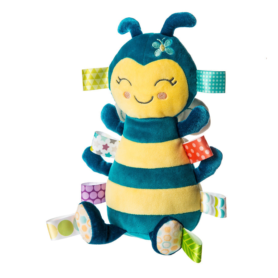 Taggies Fuzzy Buzzy Bee Soft Toy-Mary Meyer-Joanna's Cuties