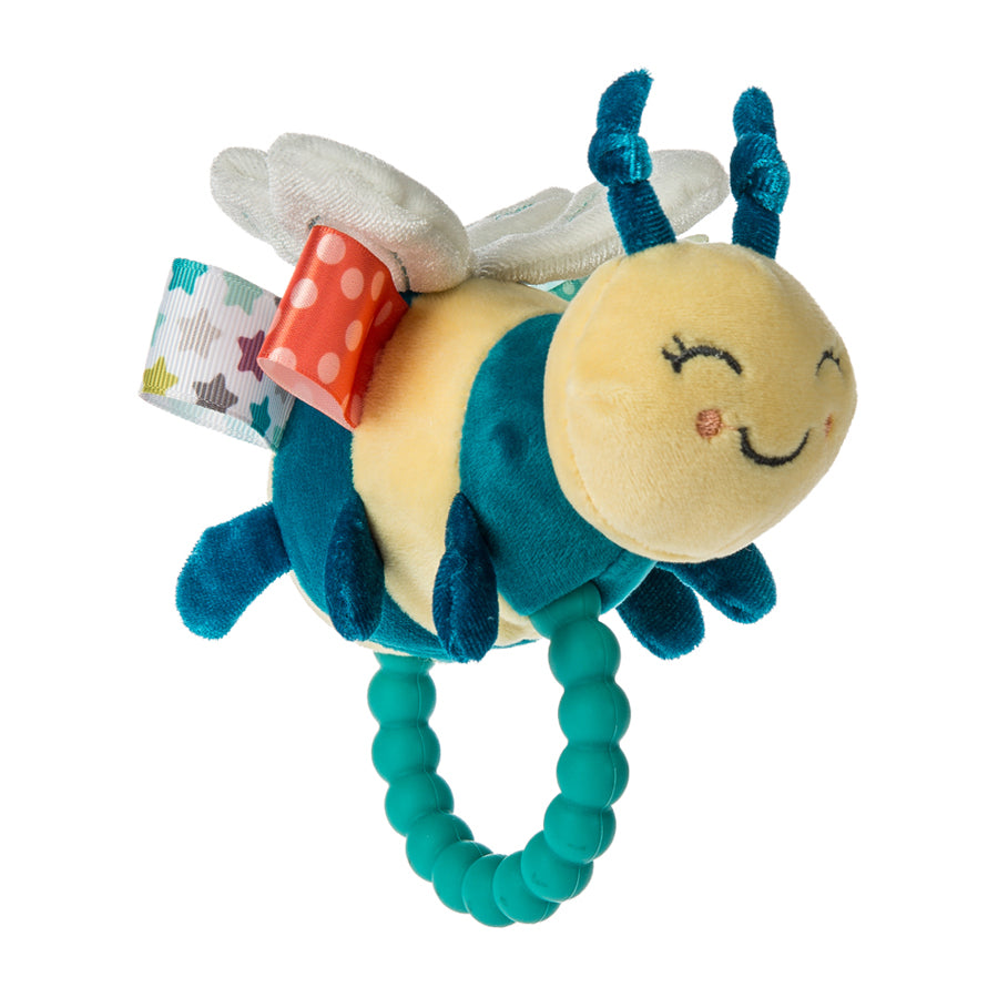 Taggies Fuzzy Buzzy Bee Teether Rattle-Mary Meyer-Joanna's Cuties
