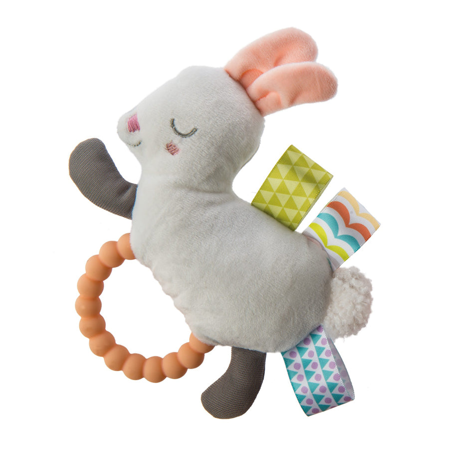 Taggies Original Shake & Teether Bunny-Mary Meyer-Joanna's Cuties
