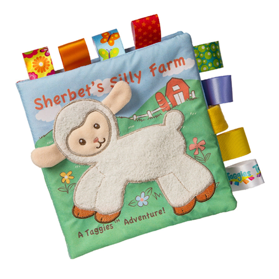 Taggies Sherbet Lamb Soft Book
