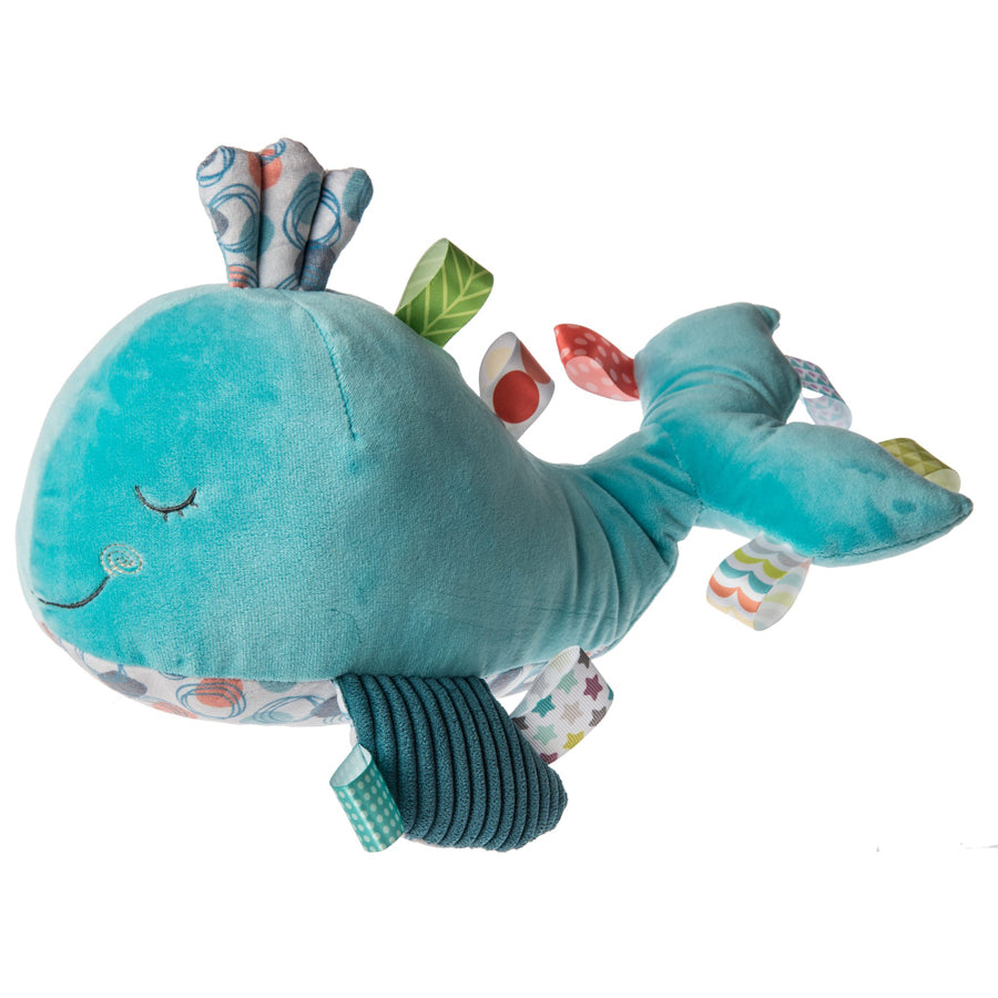 Taggies Sleepy Seas Whale Soft Toy – 12″-Mary Meyer-Joanna's Cuties